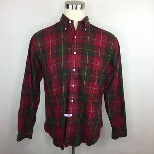 Ralph Lauren Blue Label classic fit plaid shirt